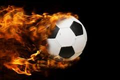 Bola en el fuego Foto de archivo