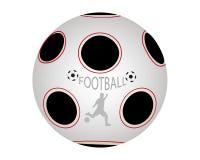 Bola en fútbol Fotografía de archivo libre de regalías