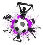 Bola en juego ilustración del vector