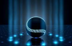 Bola en la etapa de Spotlit Foto de archivo libre de regalías