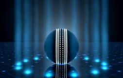 Bola en la etapa de Spotlit Imagen de archivo