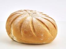 Bola francesa na farinha de pão fotografia de stock royalty free