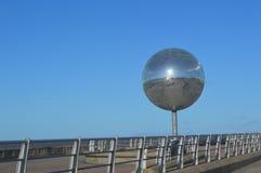 Bola grande do brilho no passeio de Blackpool Imagens de Stock