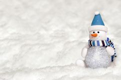 Bola hecha por Snowman Fotos de archivo