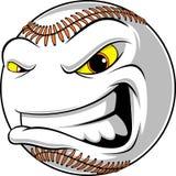 Bola irritada para o basebol ilustração stock