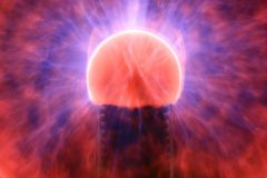 Bola ligera Imagen de archivo