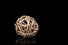 Bola natural de la decoración Imagen de archivo