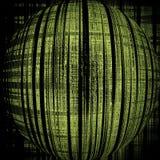 Bola no verde imagem de stock royalty free