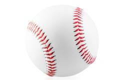 Bola nova para o jogo do basebol fotografia de stock