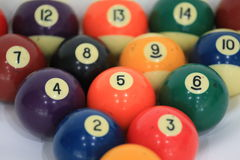 bola number5 del à¸'Billiard fotos de archivo
