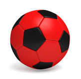 Bola o fútbol de fútbol perfecta Foto de archivo libre de regalías