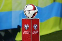 Bola 2016 oficial do EURO do UEFA Foto de Stock