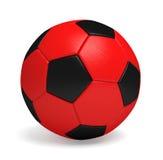 Bola ou futebol de futebol perfeita Foto de Stock Royalty Free