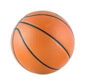 Bola para el juego en aislante del baloncesto imágenes de archivo libres de regalías