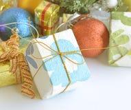 Bola a partir del día de la Navidad Fotos de archivo libres de regalías