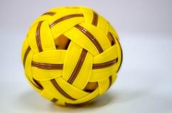 Bola plástica del trakraw del sepak Imagenes de archivo