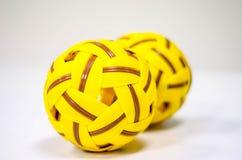 Bola plástica del trakraw del sepak Fotografía de archivo libre de regalías