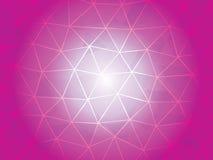 Bola poligonal Foto de Stock