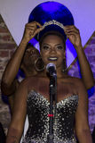 Bola Preta faz a coroação da rainha 2016 do seu carnaval Foto de Stock