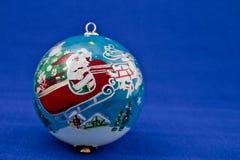 Bola retra de la Navidad. Fotografía de archivo