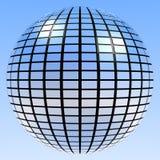 Bola retra Mirrorball del espejo Imagen de archivo libre de regalías