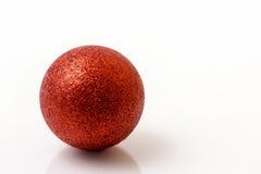 Bola roja Fotografía de archivo