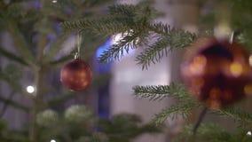 Bola roja de la Navidad metrajes