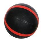 Bola roja y negra del baloncesto Fotos de archivo libres de regalías