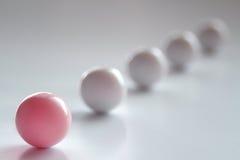 Bola rosada foto de archivo libre de regalías