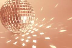 Bola rosada del disco Foto de archivo