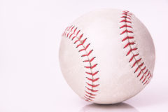 Bola usada del béisbol Imagenes de archivo