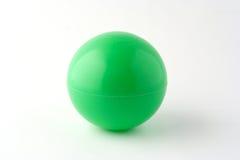 Bola verde imagen de archivo libre de regalías
