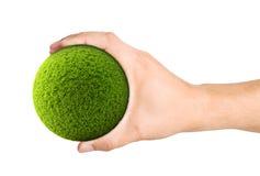 Bola verde Imagem de Stock Royalty Free