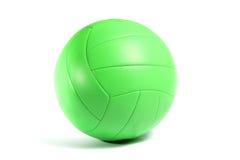 Bola verde del voleo Fotografía de archivo libre de regalías