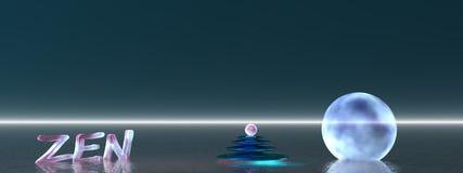 Bola y piedra del zen libre illustration