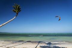 Bolabog kite surfing  beach in tropical paradise boracay island Stock Photo
