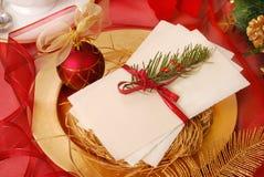 Bolacha da Noite de Natal Foto de Stock