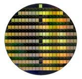 Bolacha de silicone Fotografia de Stock