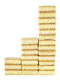 Bolacha de três etapas Imagem de Stock