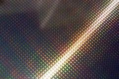 Bolacha do silicone de microplaquetas do telefone de pilha de SIM Fotografia de Stock