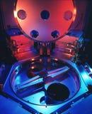 Bolacha e máquina da microplaqueta Imagens de Stock