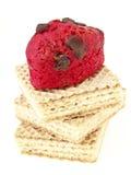 Bolacha vermelha da mistura Foto de Stock Royalty Free