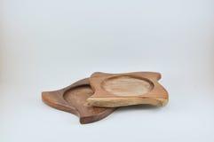 Bolachas de madeira Imagem de Stock Royalty Free