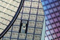 Bolachas de silicone fotos de stock royalty free