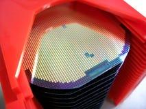 Bolachas do silicone Fotos de Stock