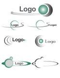 Bolas 2 de la insignia Imágenes de archivo libres de regalías