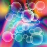 Bolas 3d transparentes Fotografia de Stock Royalty Free