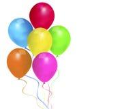 Bolas al cumpleaños del día de fiesta