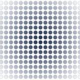 Bolas alineadas Imagen de archivo libre de regalías