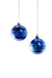Bolas azules Foto de archivo libre de regalías